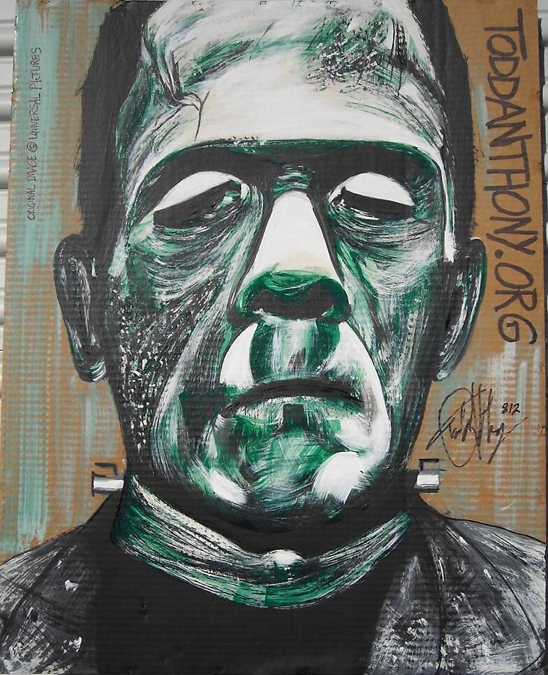 Boris Karloff as what's-his-name by toddanthonyORG