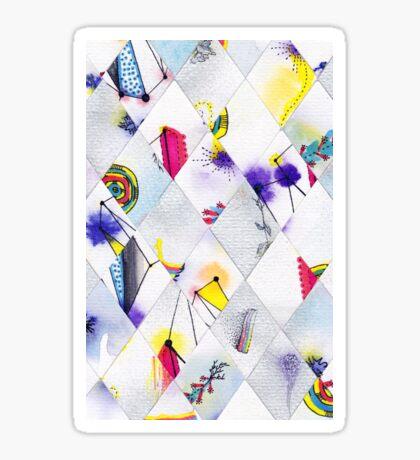 Diamonds III Sticker