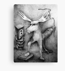 Books. Canvas Print