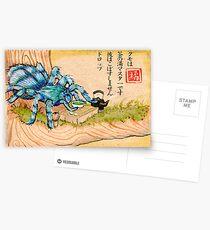 Spider's Tea Party Postcards