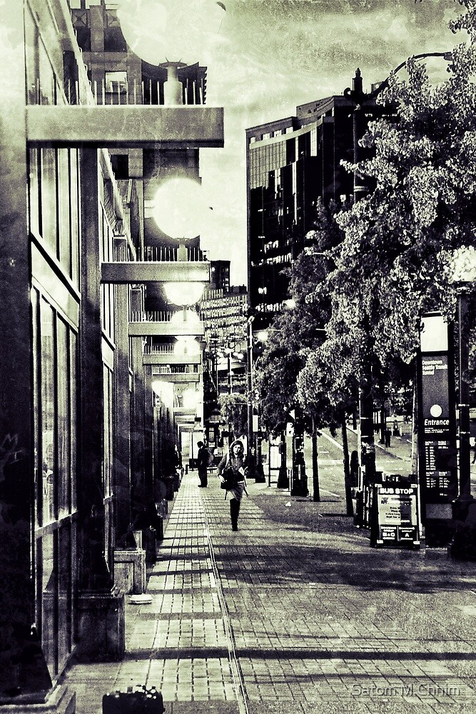 Seattle Streets by Satom M Chhim