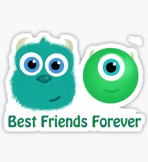 Best Friends, Mike and Sully Sticker