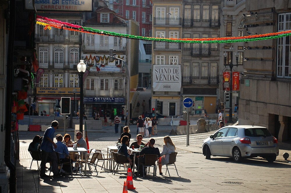 Porto Street by Laura Cronin