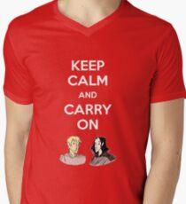 Carry On, Simon Men's V-Neck T-Shirt
