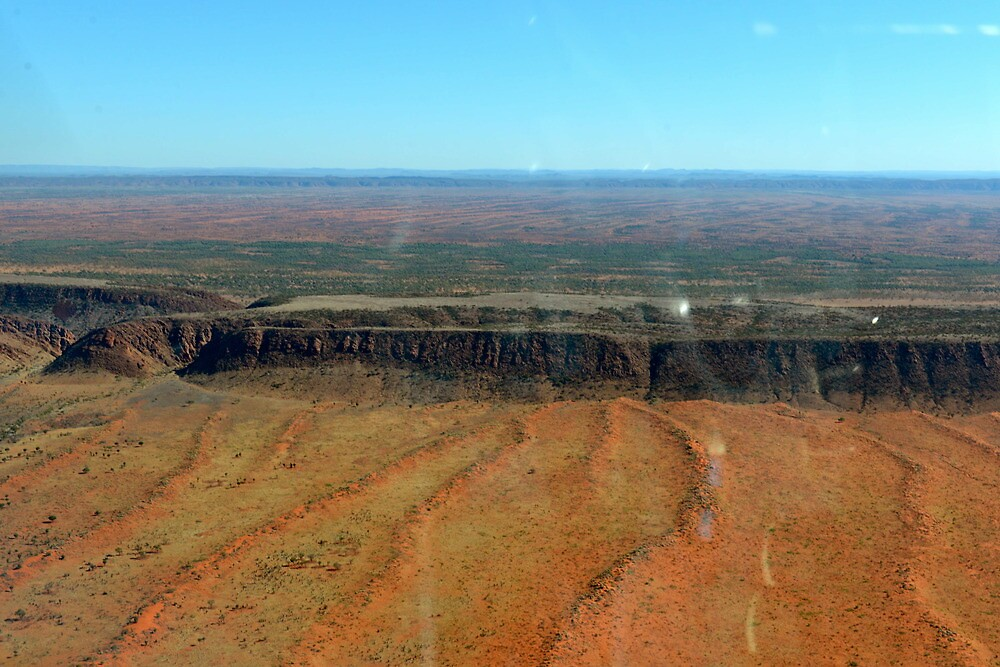 Flying into Alice Springs by styles