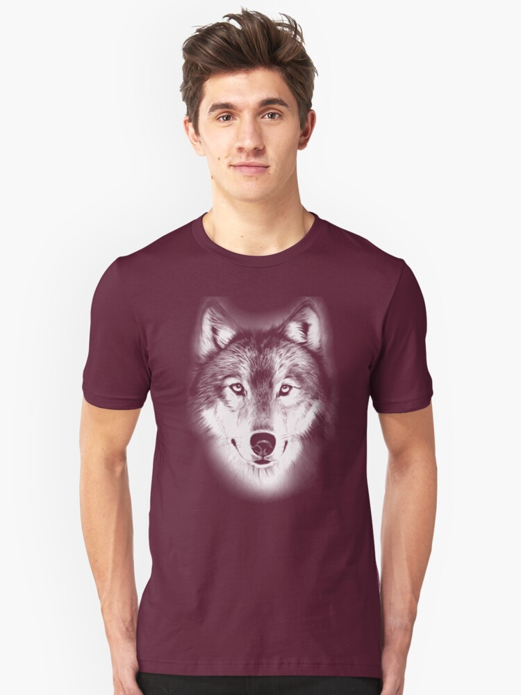 wolf t-shirt by parko