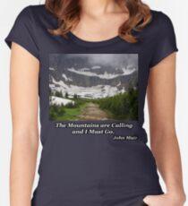 Iceberg Lake Women's Fitted Scoop T-Shirt