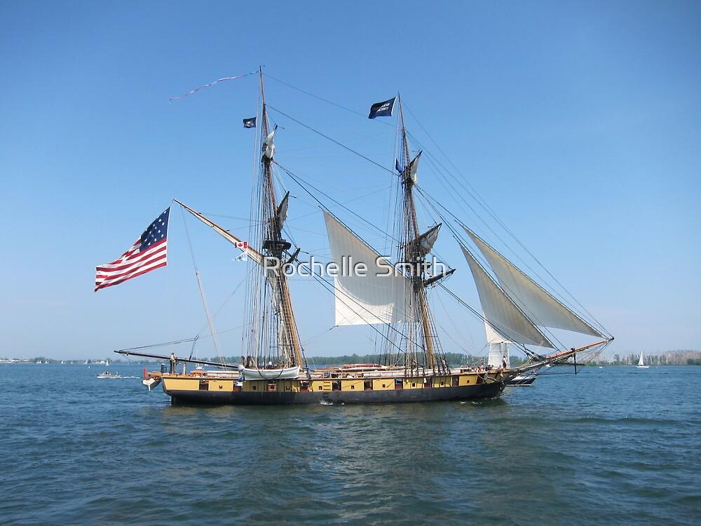 Tall Ship Niagara by Rochelle Smith