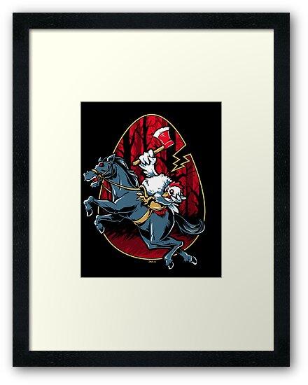 The Eggless Horseman by Nathan Davis
