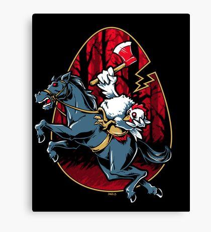 The Eggless Horseman Canvas Print
