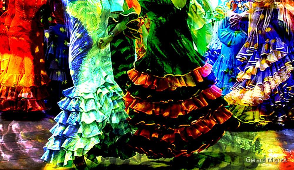 Flamenco dresses v4 by Gerard Mignot