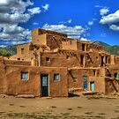 Pueblo de Taos by K D Graves Photography
