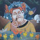 Buggin' by Rhinovangogh