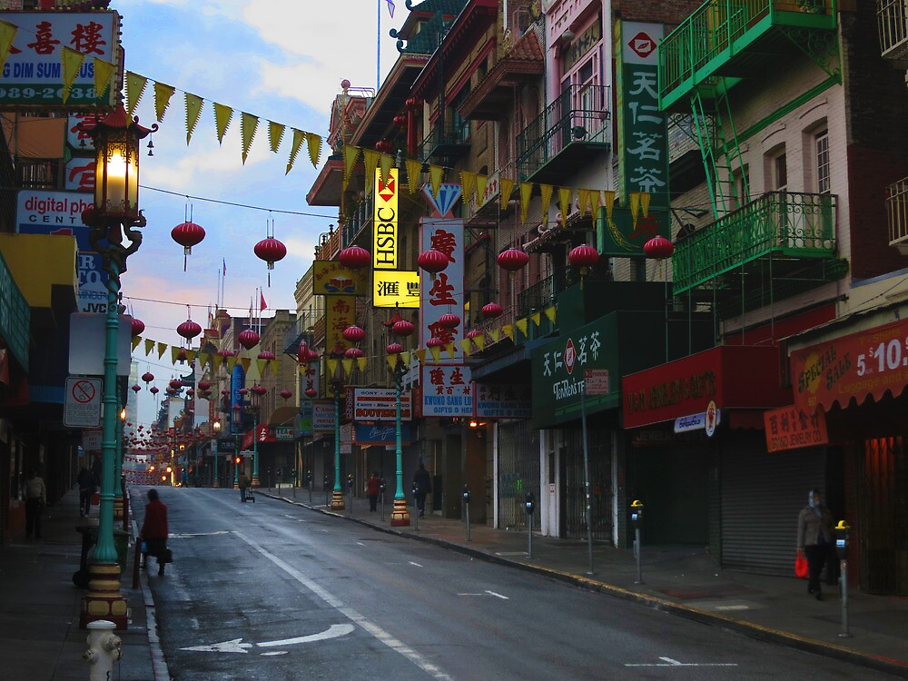 Early Morning Chinatown by David Denny