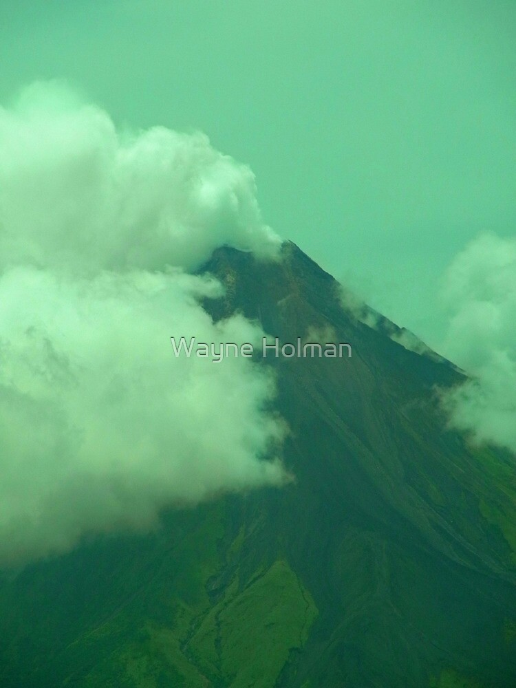 Mayon's Portrait by Wayne Holman