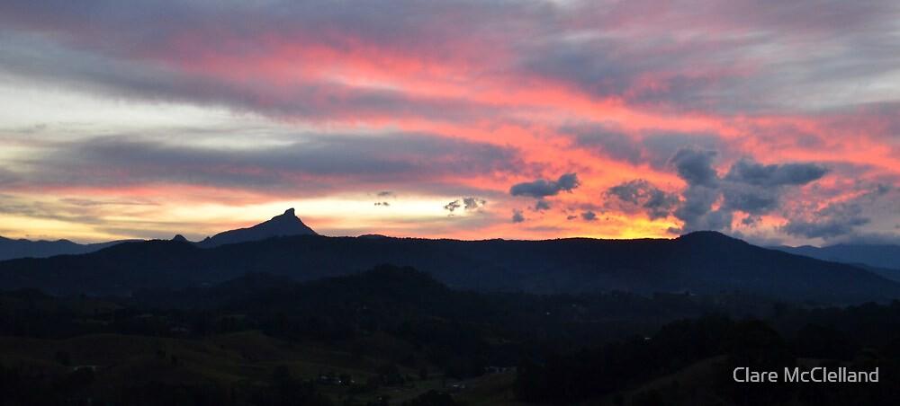 Mt Warning Angel Cloud by Clare McClelland