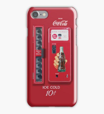 Vintage Coke Machine iPhone Case/Skin