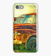 Old Rusty Bedford Truck iPhone Case/Skin