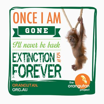 Once I'm Gone (Extinction is forever) by Orangutan