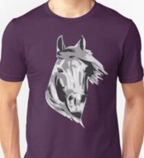 Stallion Face Unisex T-Shirt