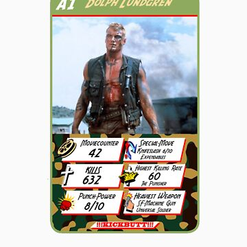 ACTION QUARTET - A1 Dolph Lundgren by haegiFRQ