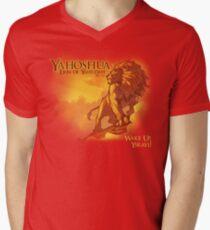 Lion of Yahudah Men's V-Neck T-Shirt