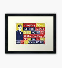 Everyday - Buddy Holly Framed Print