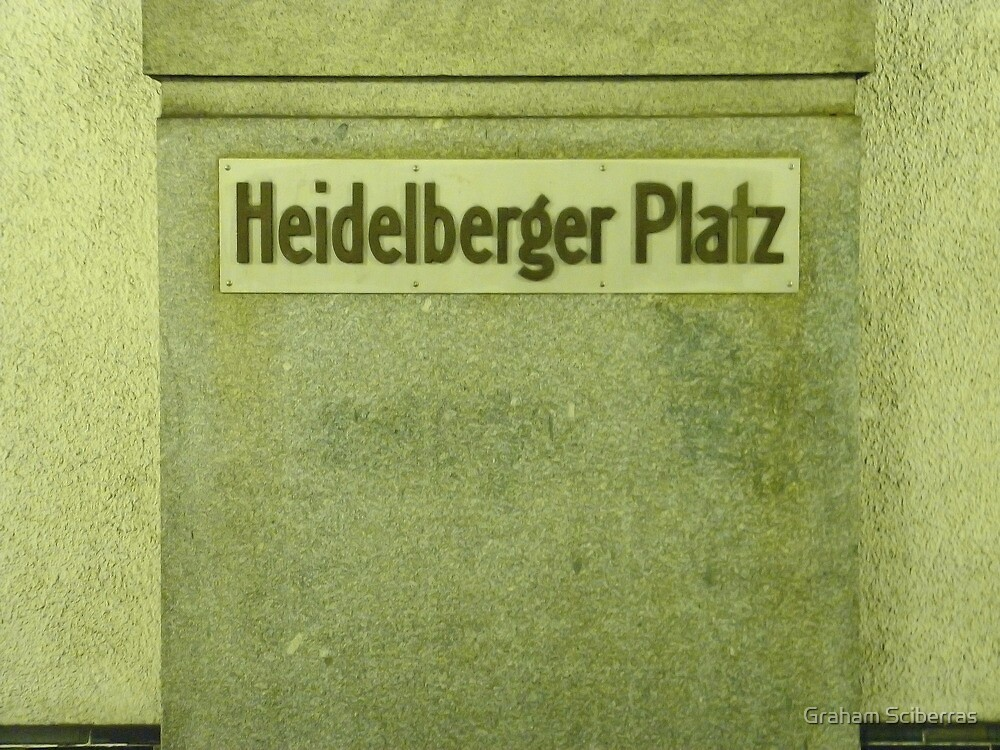Heidelberger Platz by Graham Sciberras