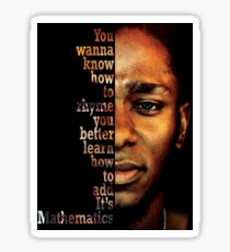 Mos Def Mathematics Sticker