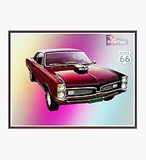 67 Pontiac GTO Photographic Print