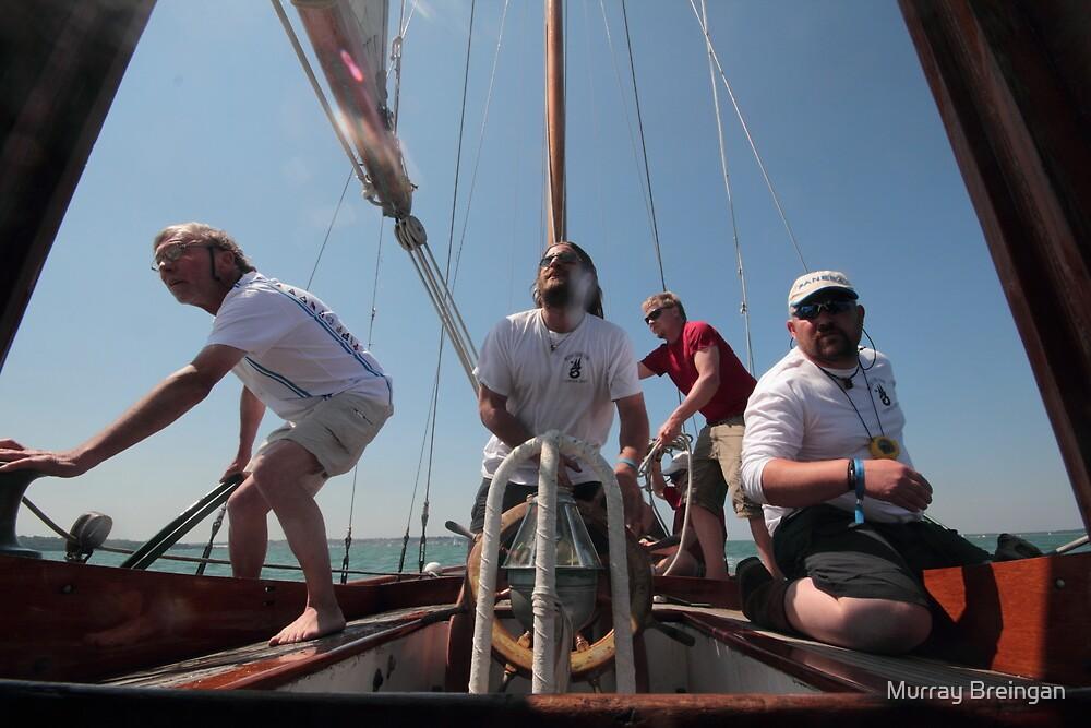 Galatea Racing at the Panarai Classic Yacht Race 2013 by Murray Breingan