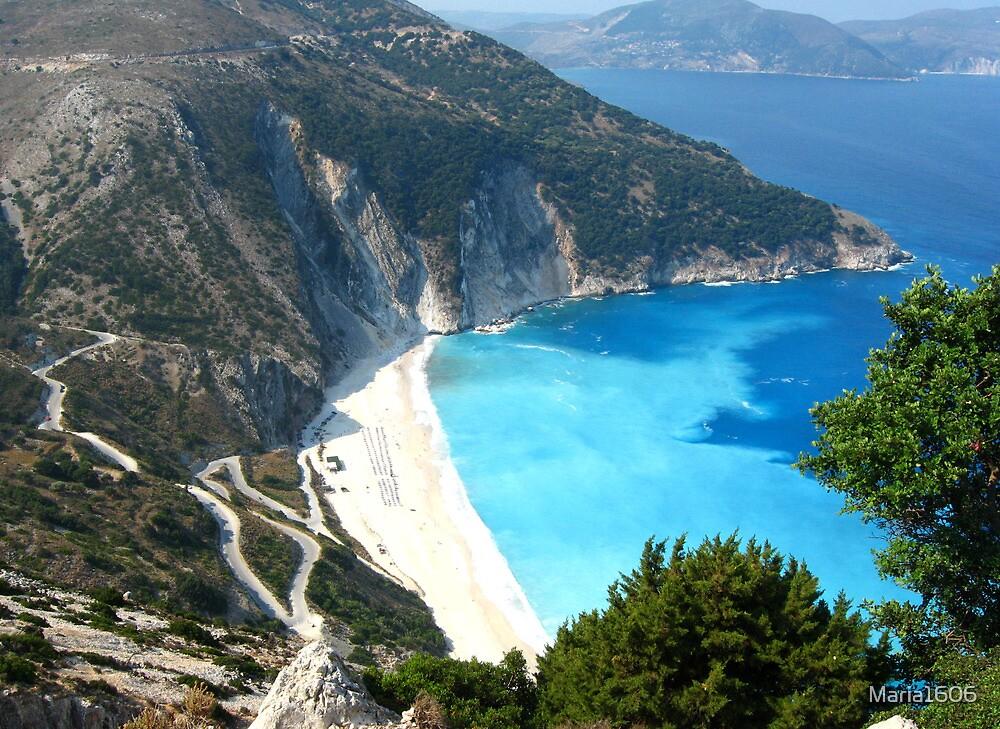 The road to Myrtos by Maria1606