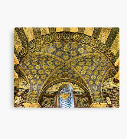 Aachen Cathedral. Canvas Print