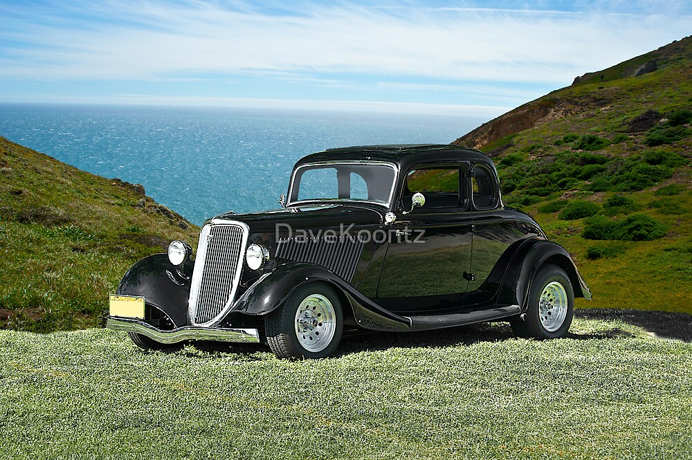 1934 Ford 5-Window Coupe by DaveKoontz