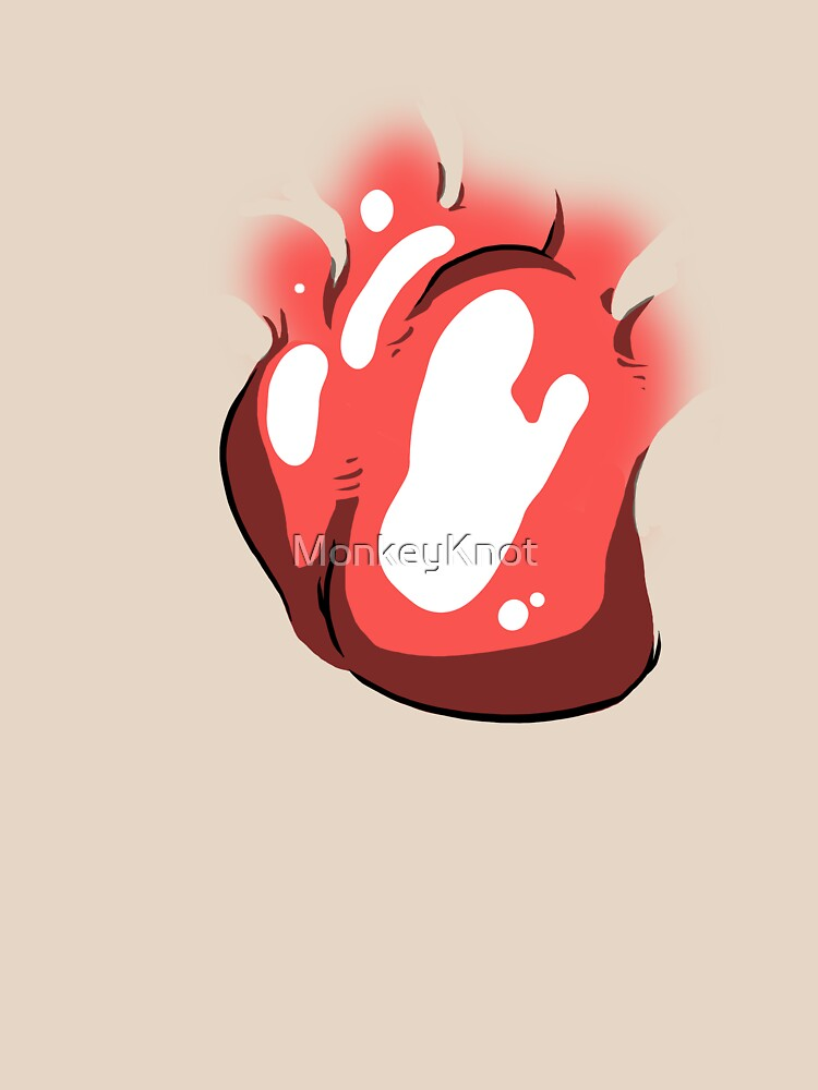 Big Heart Through My Shirt by MonkeyKnot