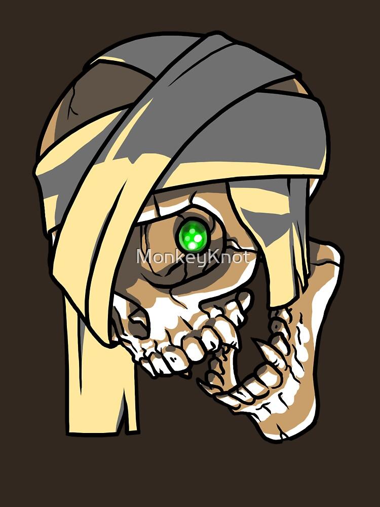 MummySkull by MonkeyKnot