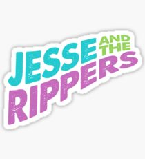Jesse and the Rippers Concert Tee Shirt Sticker