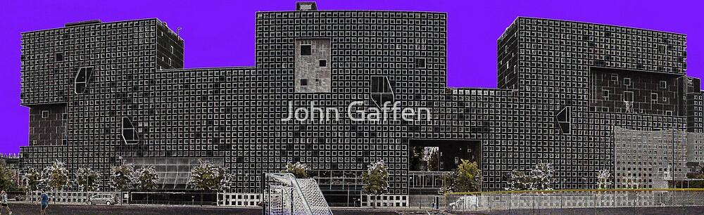 Simmons Hall Panorama by John Gaffen