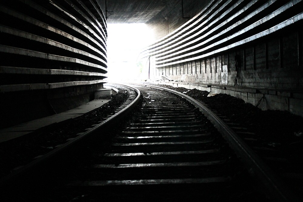 In the tunnel by UpNorthPhoto