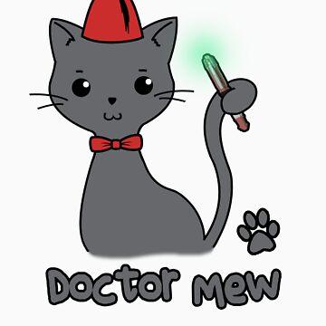 Doctor Mew by Sherlosaurus