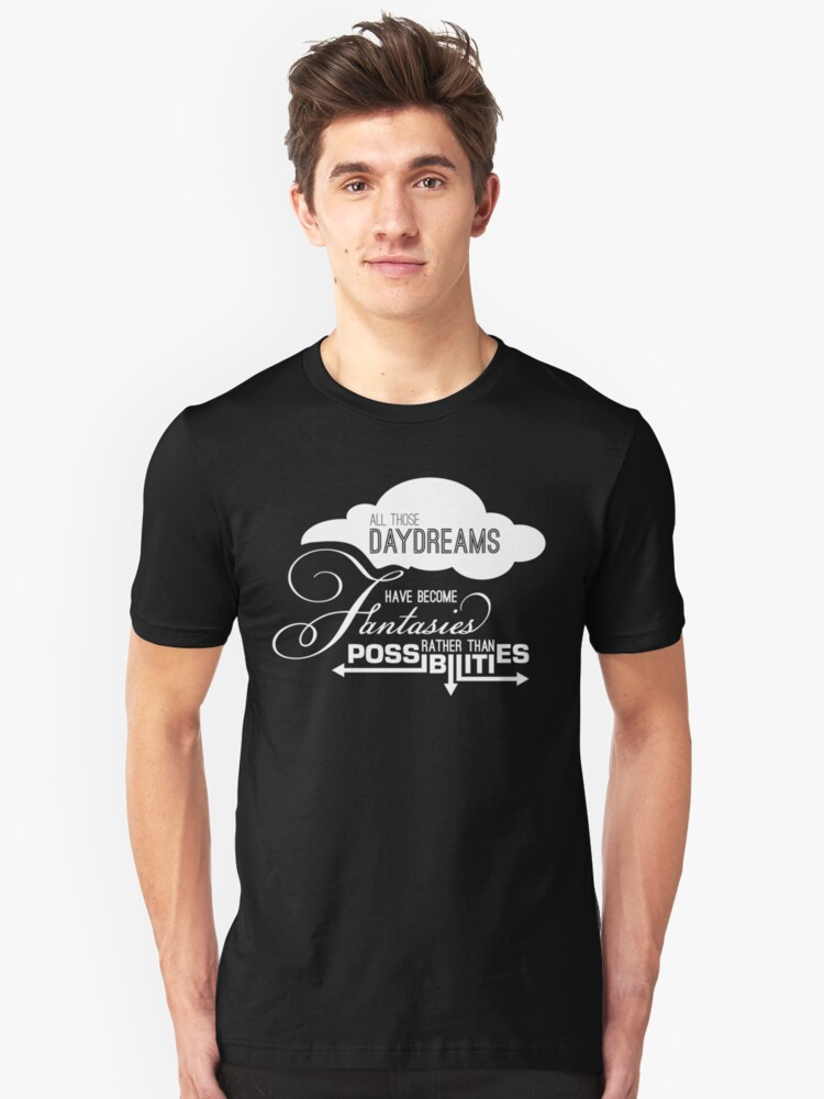 All those daydreams Unisex T-Shirt Front