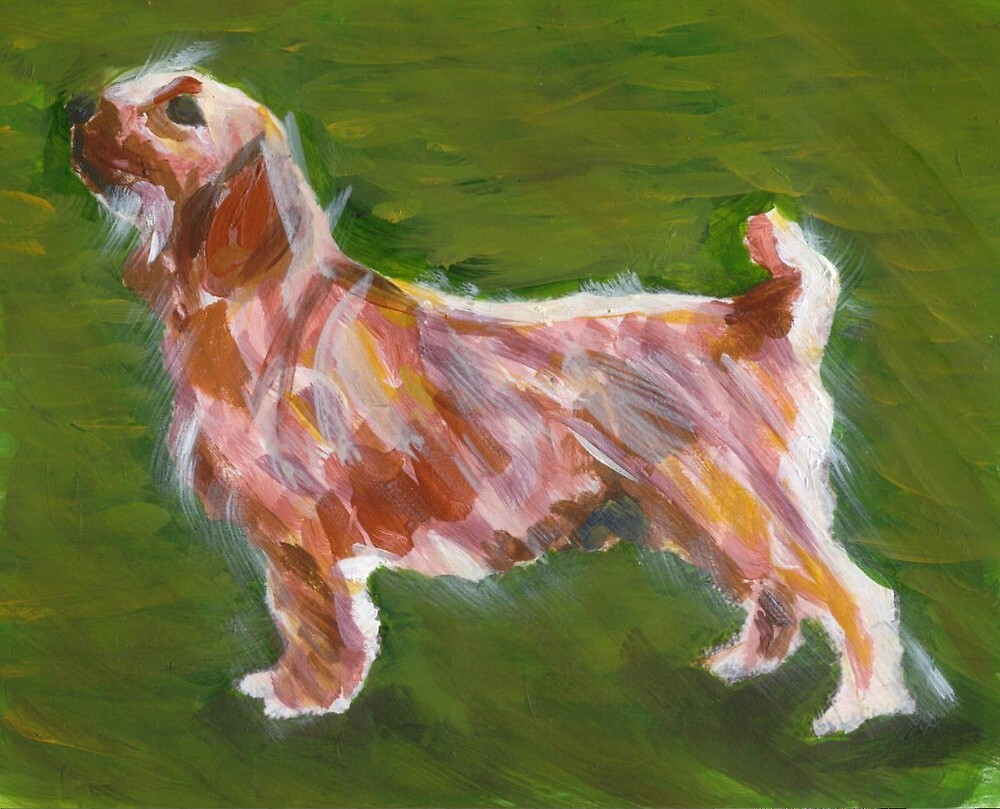 Basset Fauve de Bretagne Dog Portrait  by Oldetimemercan