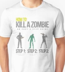How To: Kill A Zombie T-Shirt