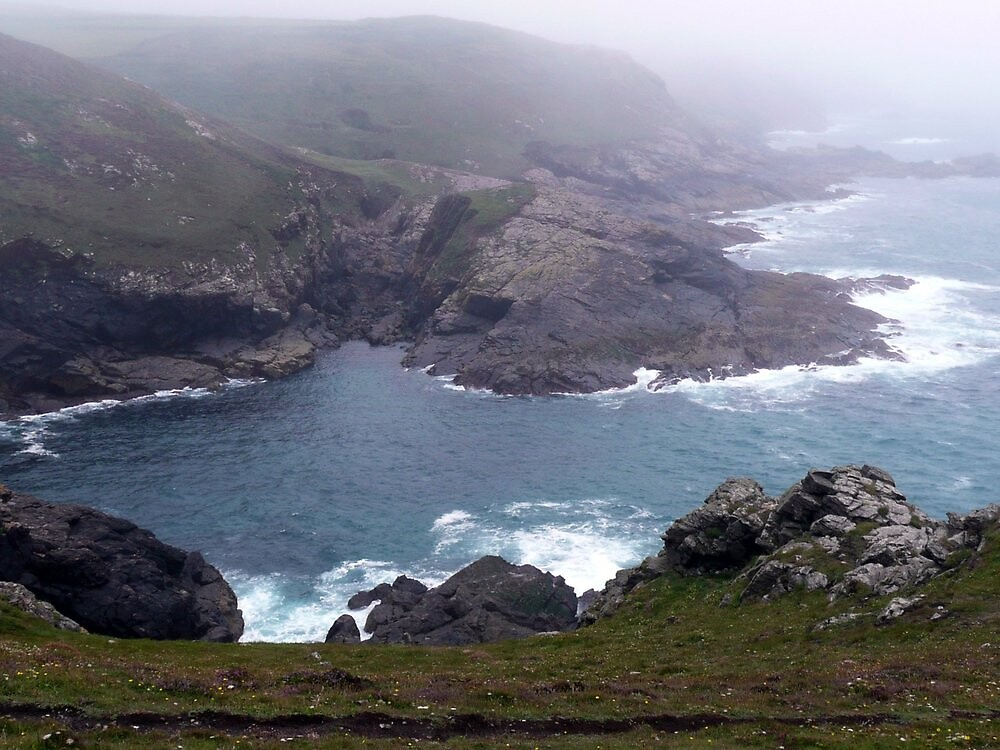 Pendeen Coastline, Cornwall by John Stratford