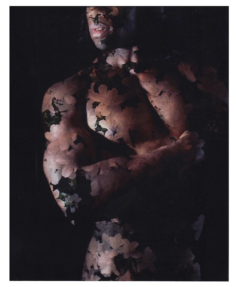 EROTIC WHITE FLORAL by SAMUEL VETA
