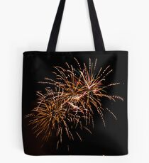 Firework - dotted Tote bag