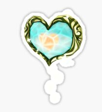 Heart Container Sticker