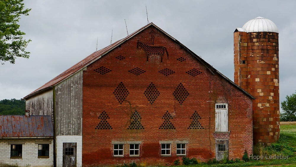 Brick Barn by Hope Ledebur