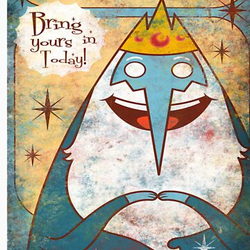 Ice King by gwendellin