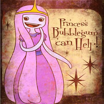 Princess Bubblegum by gwendellin
